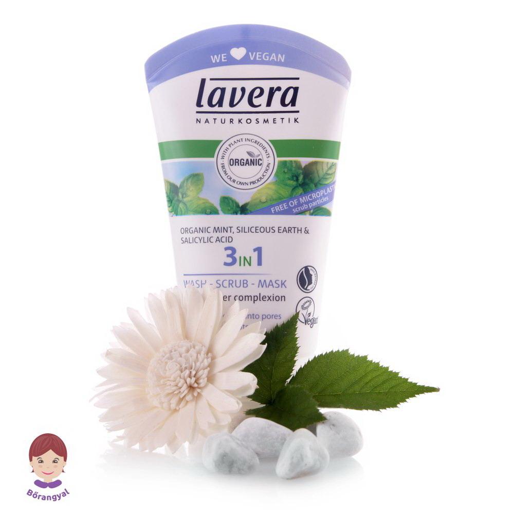 Lavera 3 in1 Arcradír Zsíros Bőrre